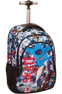 Τσάντα Δημοτικού Trolley No Fear Color Skate BMU 347-43074