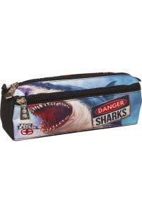 Κασετίνα Βαρελάκι No Fear Shark BMU 347-40140