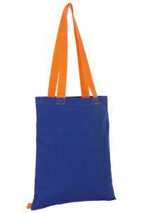 Τσαντα Αγορας 100% Canvas Sols Hamilton 01683-885 Μπλε/Πορτοκαλί