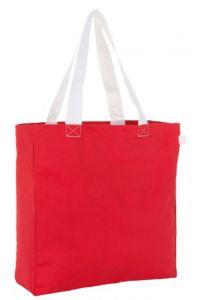 Τσαντα Αγορας 100% Canvas Sols Lenox 01672-908 Κόκκινο/Λευκό