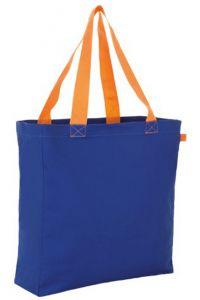 Τσαντα Αγορας 100% Canvas Sols Lenox 01672-885 Μπλε/Πορτοκαλί