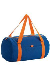 Τσάντα Βαρελάκι Sols Tribeca 01204-885 Μπλε/Πορτοκαλί