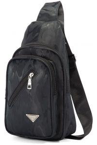 Τσάντα Χιαστί Sling Benzi BZ5288 Μαύρο