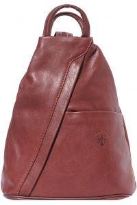Γυναικειο Δερματινο Backpack Vanna Firenze Leather 2061 Καφε