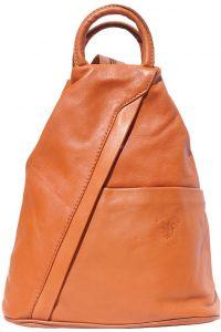 Γυναικειο Δερματινο Backpack Vanna Firenze Leather 2061 Tan