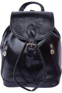 Δερμάτινη Τσάντα Πλάτης Luminosa Firenze Leather 6559 Μαύρο