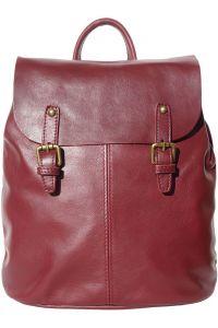 Δερματινη Τσαντα Πλατης Vara Firenze Leather 3010 Μπορντο
