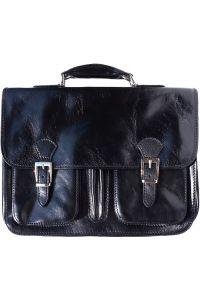 Δερμάτινος Χαρτοφύλακας 2 Θέσεων Firenze Leather 7611 Μαύρο