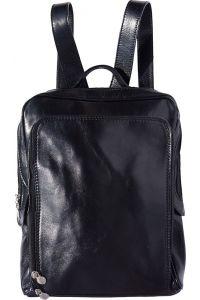 Δερμάτινη Τσάντα Πλάτης Gabriele Firenze Leather 6538 Μαύρο