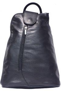Δερμάτινη Τσάντα Πλάτης Michela GM Firenze Leather 2009 Μαύρο