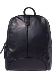 Δερματινη Τσαντα Πλατης Cinzia Firenze Leather 6146 Μαύρο
