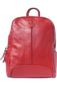 Δερματινη Τσαντα Πλατης Cinzia Firenze Leather 6146 Κόκκινο