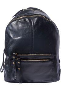 Δερματινη Τσαντα Πλατης Springs Firenze Leather 6144 Μαύρο