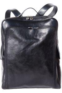 Δερματινη Τσαντα Πλατης Firenze Leather 6558 Μαύρο