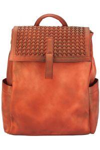 Δερμάτινη Τσάντα Πλάτης Nicola Firenze Leather 68033 Κόκκινο