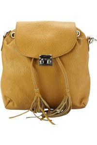 Δερμάτινη Τσάντα Πλάτης Bougainvillea Firenze Leather 9119 Ταμπα
