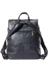 Δερματινη Τσαντα Πλατης Vara Firenze Leather 3010 Μαύρο