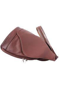 Δερμάτινη Τσάντα Πλάτης Foglia Firenze Leather 2015 Καφε