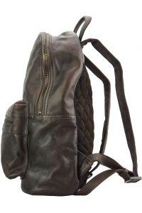 Δερμάτινη Τσάντα Πλάτης Josh Firenze Leather 68028 Σκουρο Καφε