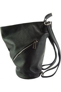 Δερμάτινη Τσάντα Πλάτης Clapton Firenze Leather 9200 Μαύρο