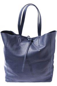 Δερματινη Τσαντα Ωμου Babila Firenze Leather 9121 Σκουρο Μπλε