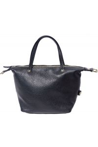Δερματινη Τσαντα Χειρος Pia Firenze Leather B031 Μαύρο