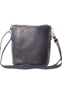 Γυναικειο Δερματινο Τσαντακι Felicita Firenze Leather 8620 Μαύρο
