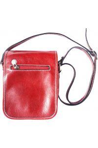 Δερματινο Τσαντακι Ωμου Αντρικό Firenze Leather 7624 Κόκκινο