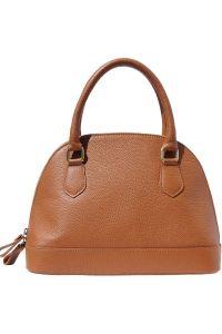 Δερματινη Τσαντα Χειρος Firenze Leather 9130 Μπεζ
