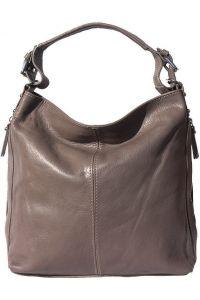 Δερματινη Τσαντα Ωμου Betta Firenze Leather 3013 Γκρι