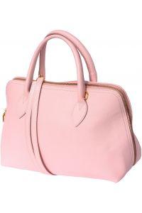 Δερμάτινη Τσάντα Χειρός Giulia GM Firenze Leather 308 Ροζ