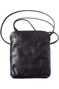 Δερματινο Τσαντακι Ωμου Mia Gm Firenze Leather 8610 Μαύρο