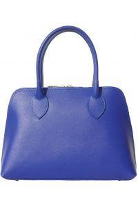 Δερμάτινη Τσάντα Χειρός Giulia Firenze Leather 304 Μπλε