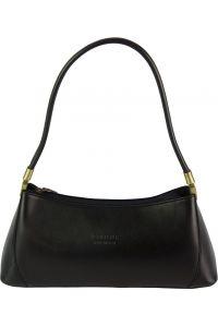 Δερμάτινη Τσάντα Ωμου Cirilla Firenze Leather 187 Μαύρο