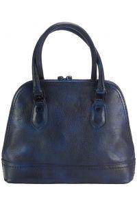Τσαντα Χειρος Δερματινη Firenze Leather 68126 Σκουρο Μπλε