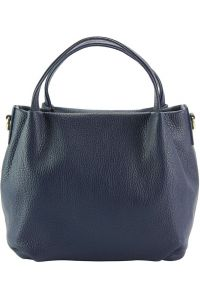 Δερμάτινη Τσάντα Χειρός Sefora Firenze Leather 9108 Σκουρο Μπλε