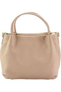 Δερμάτινη Τσάντα Χειρός Sefora Firenze Leather 9108 Ροζ