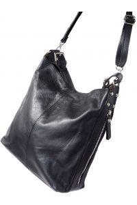 Δερματινη Τσαντα Ωμου Betta Firenze Leather 3013 Μαύρο