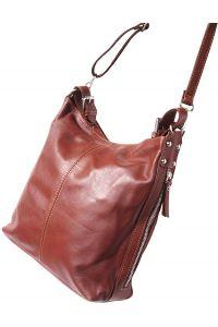 Δερματινη Τσαντα Ωμου Betta Firenze Leather 3013 Καφε