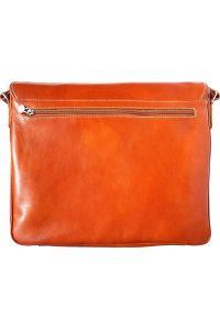 Τσάντα Ταχυδρόμου Δερματινη Firenze Leather 6555 Μπεζ