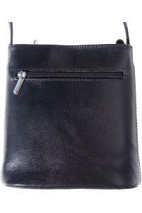 Δερματινη Τσαντα Ωμου Florence Firenze Leather 203 Μαύρο