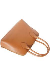 Δερμάτινη Τσάντα Χειρός Giulia Firenze Leather 304 Μπεζ