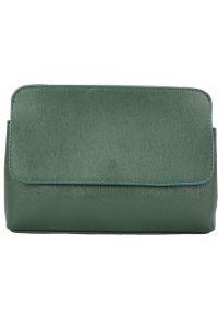 Τσαντακι Φακελος Δερματινο Firenze Leather 6145 Σκουρο Πρασινο