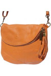 Δερματινο Γυναικειο Τσαντακι Rachele Firenze Leather 6120 Μπεζ