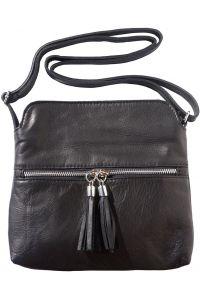 Δερματινο Τσαντακι Be Free Firenze Leather 6110 Μαύρο