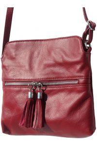 Δερματινο Τσαντακι Be Free Firenze Leather 6110 Μπορντο
