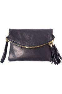 Τσαντακι Ωμου Δερματινο Graziella Firenze Leather 9602 Μαύρο