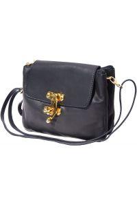 Δερματινο Τσαντακι Clutch Elvira Firenze Leather 9601 Μαύρο