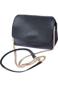 Τσαντακι Φακελος Δερματινο Firenze Leather 6145 Μαύρο