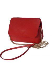 Τσαντακι Φακελος Δερματινο Firenze Leather 6145 Κόκκινο